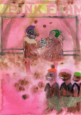 KATE LYDDON Sad Autobiography Series Suluboya, kolaj, desen 21x29,7cm 1400 Euro