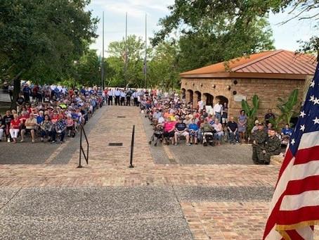 Memorial Day Veteran's Dedication