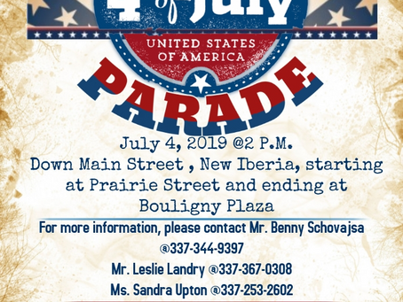 4th of July Parade details