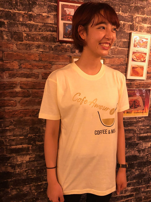 Cafe Amour ロゴTシャツ(男女兼用)