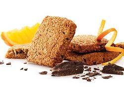 VitaBran met chocoladestukjes en sinaasappel