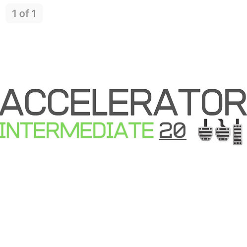 Accelerator 20 - Midway Course