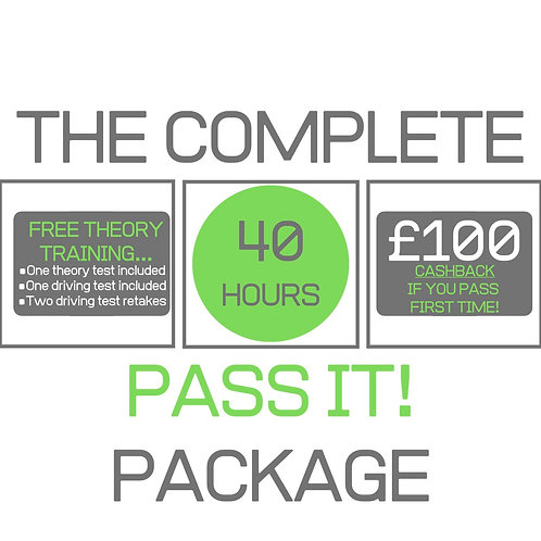 The Complete 'Pass it!' Driving Course