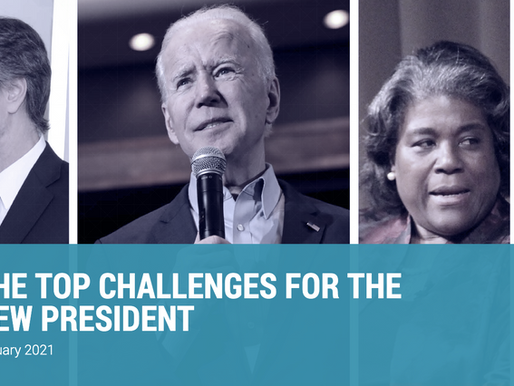 Top Challenges For President Biden - Wikistrat Experts Weigh In
