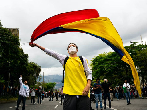 The 2021 Protests and the Future of Colombia - Dr. Andrei Gomez-Suarez