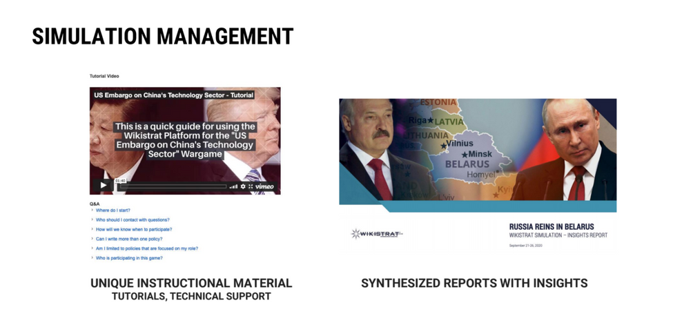 Reports and Instructional Material