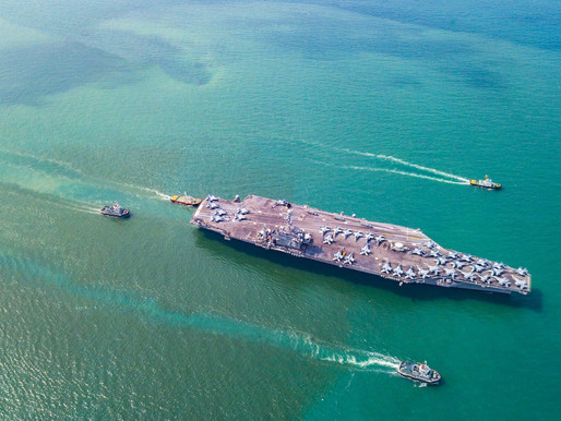 What Will Happen When a Chinese Aircraft Carrier Group Enters the Persian Gulf?