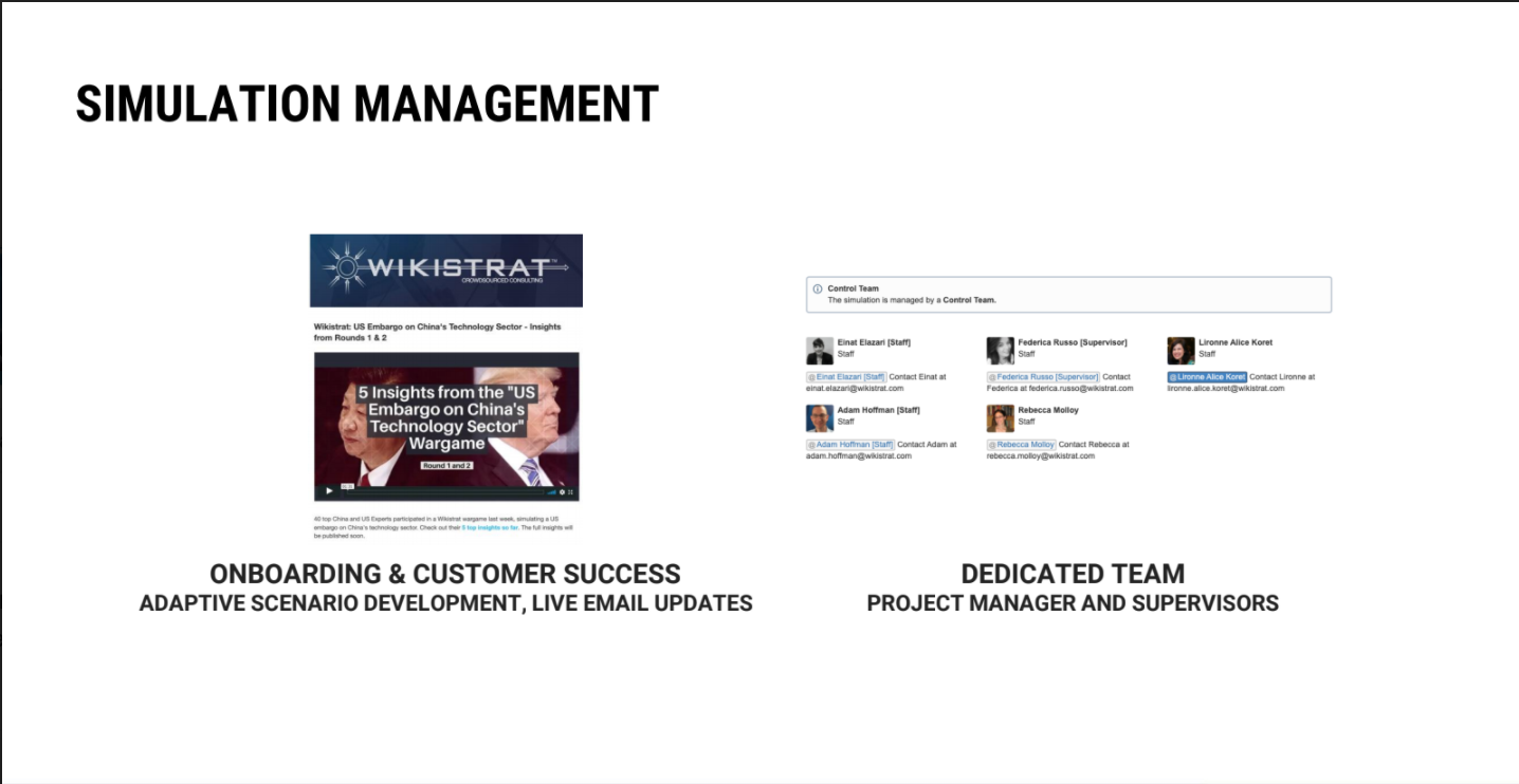 Simulation Management