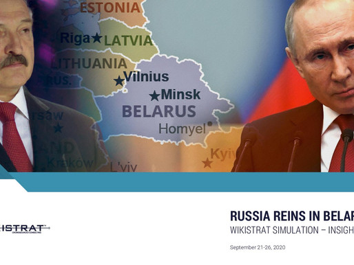 Russia Reins in Belarus - 7 Insights from the simulation