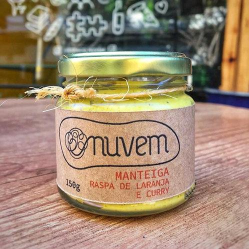 Manteiga de Raspas de Laranja e Curry - 150g