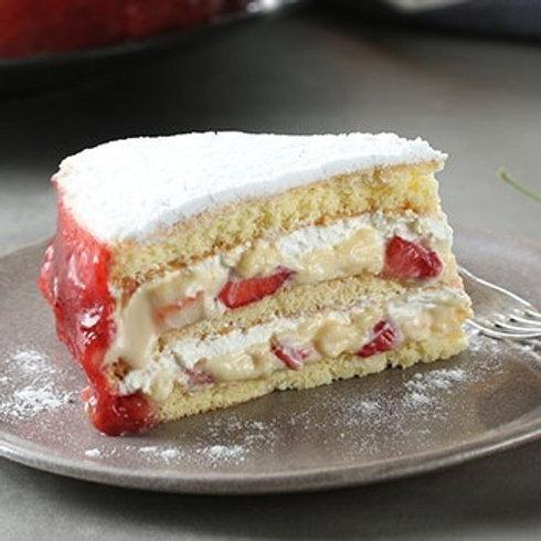 Torta Bem Casado de Morango  (aro 24)
