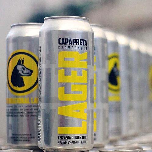 Cerveja Lager - Capa Preta (473ml)