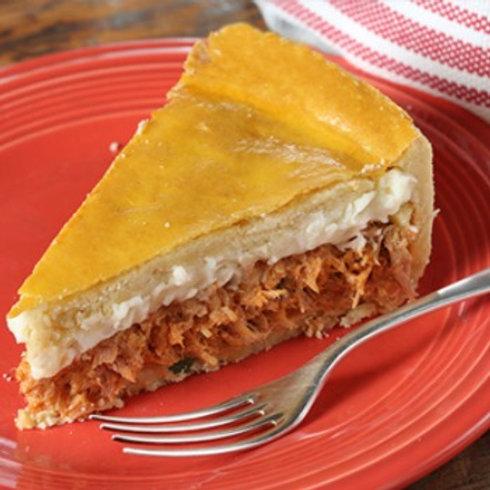 Torta de Frango com Requeijão (aro 24)