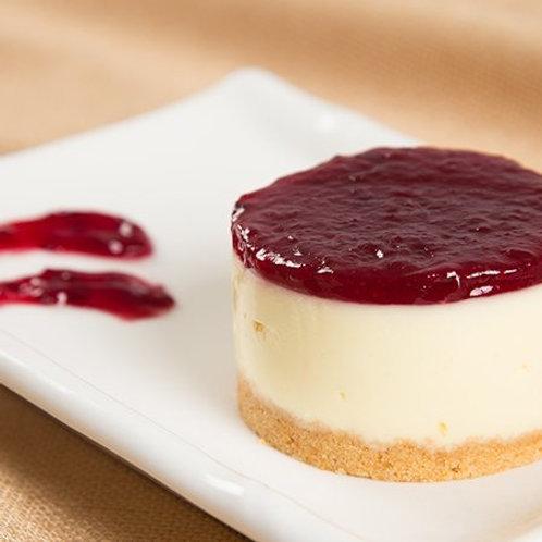 Mini Cheesecake de Frutas Vermelhas