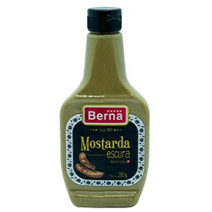 Mostarda Escura (260g) - Berna