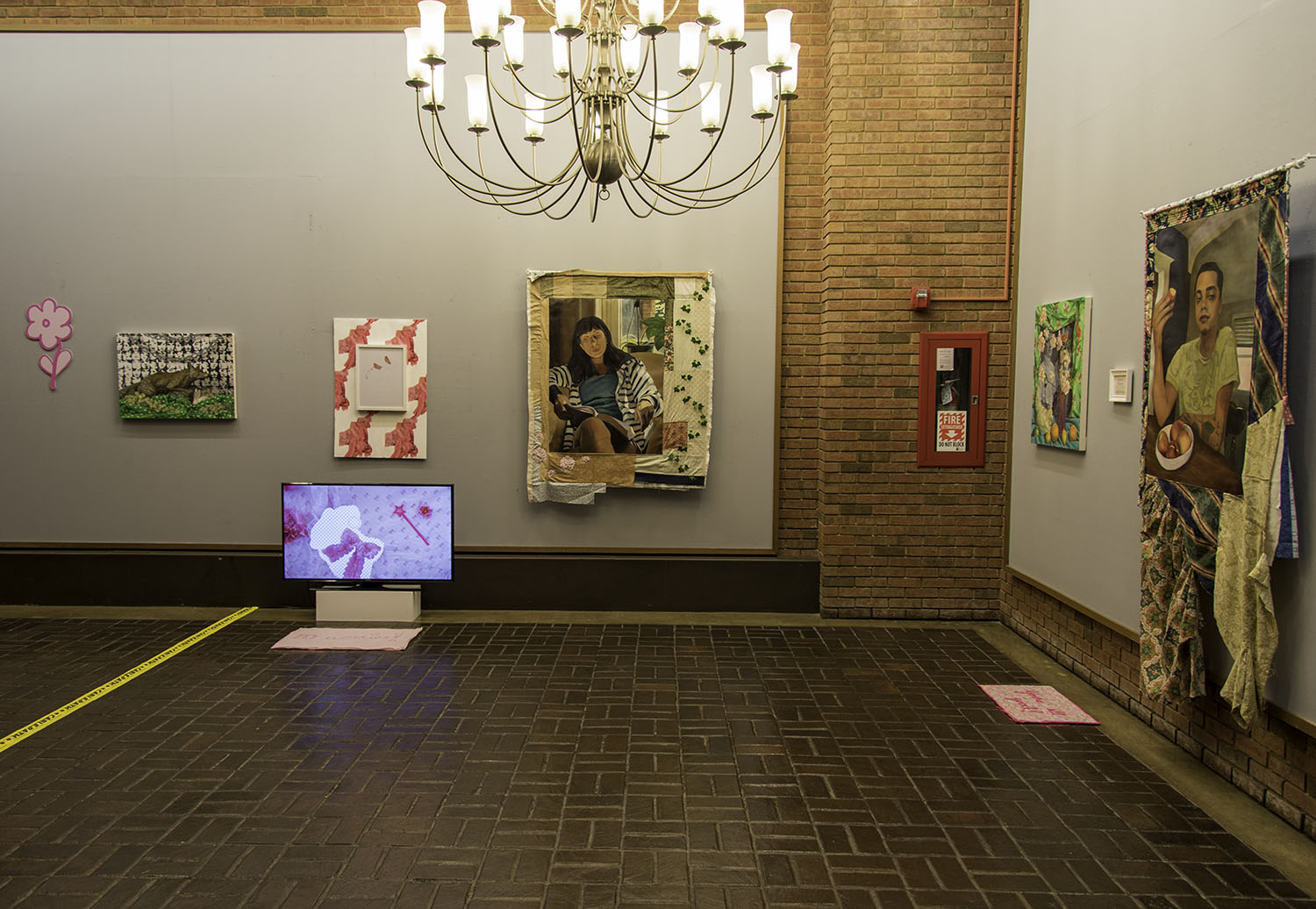Exhibition view of Hit Me, Baby, One More Time
