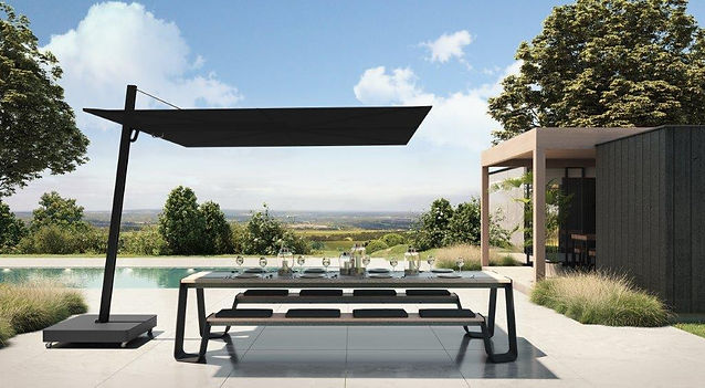 Spectra UX Cantilever umbrella_Architect