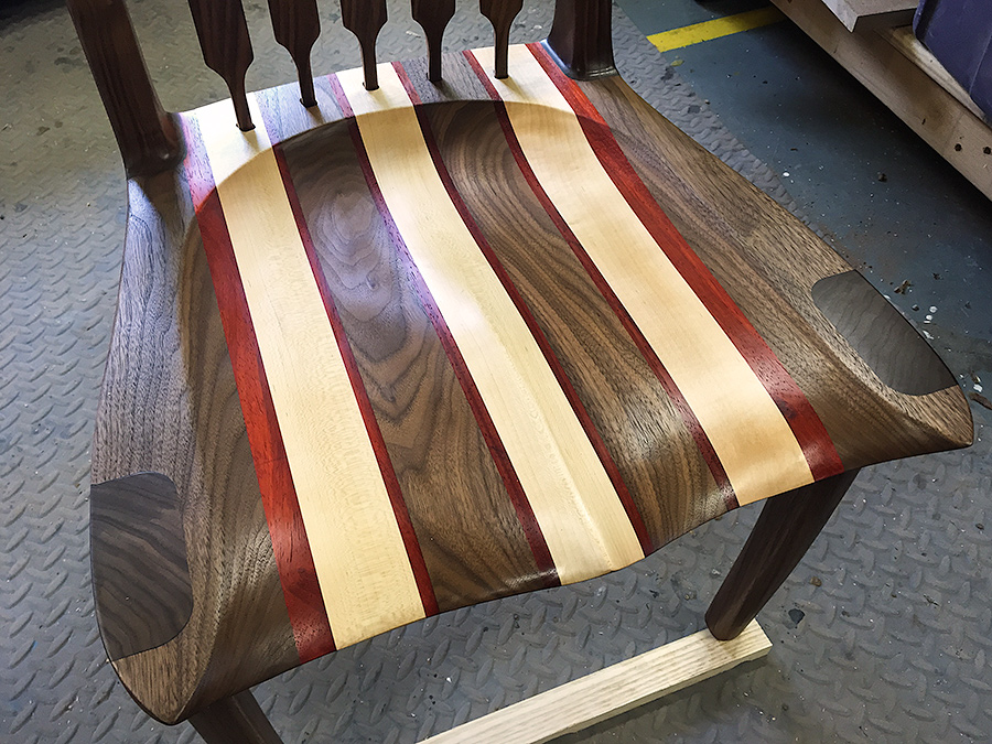 Walnut Dining Chair