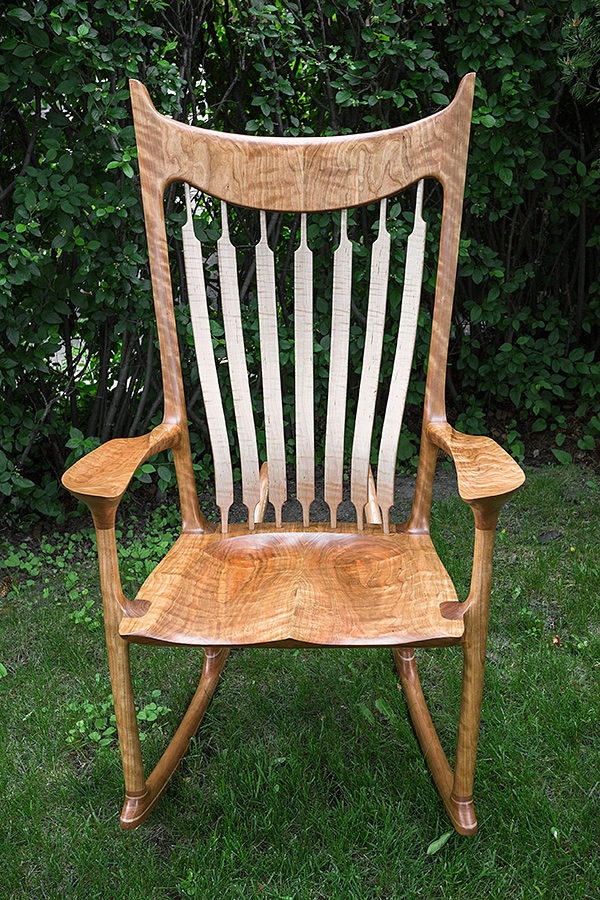 Cherry Rocking Chair - SOLD