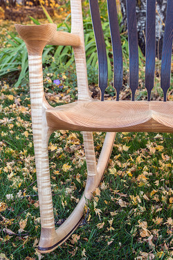 Curly Maple and Wenge Rocker