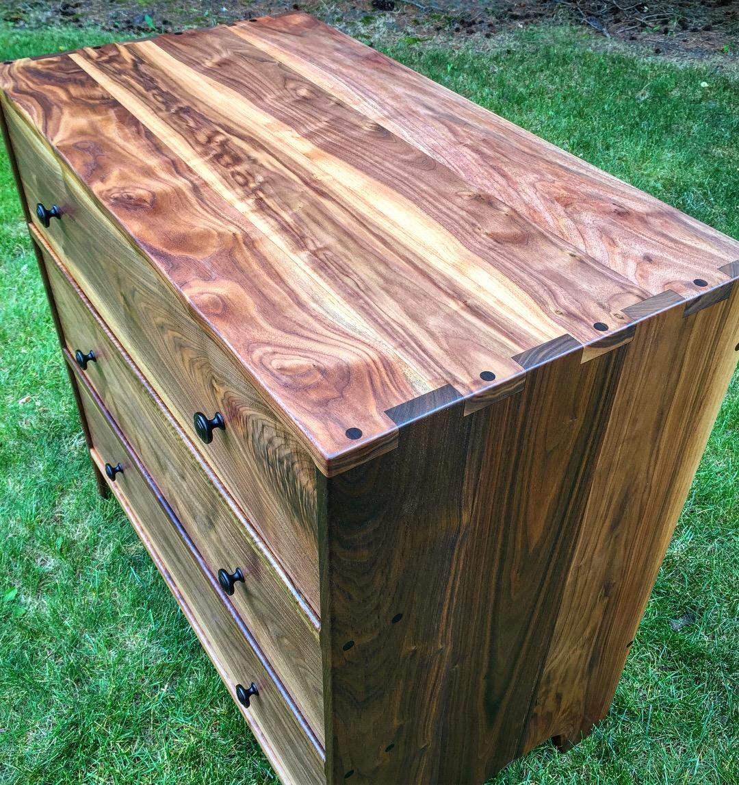 Walnut Dresser