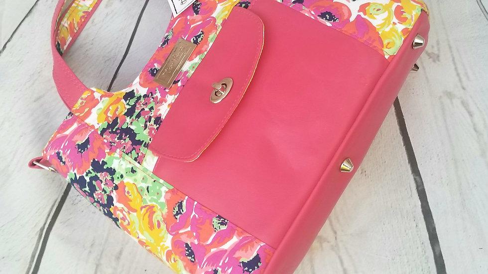 Contemporary Floral handbag