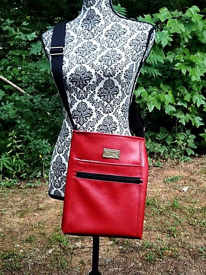 Multi Zipper Cross Body Bag