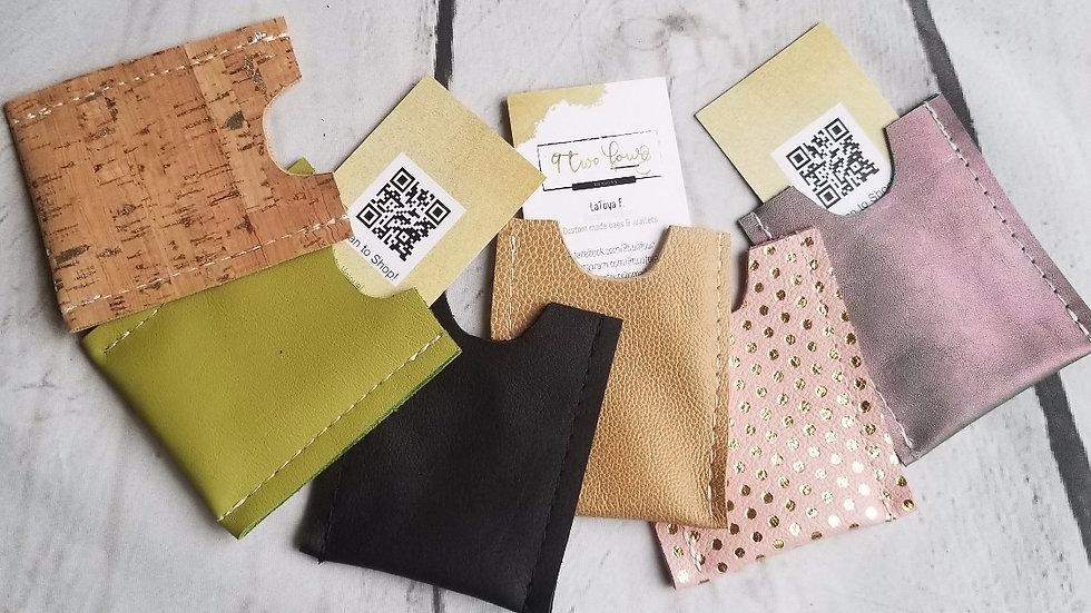 Leather Minimalist Card Holder
