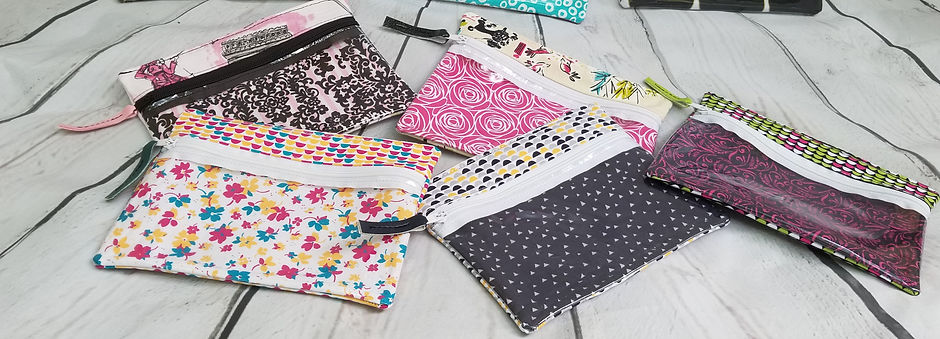 zipper pouch beauty bag
