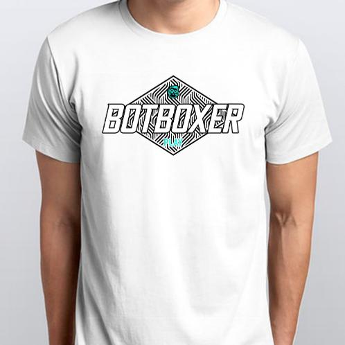 White BotBoxer Play Tee