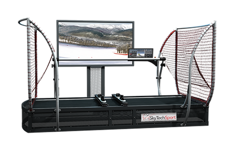 Leader Pro Snow Sports Simulator is perfect for fitness centers or home