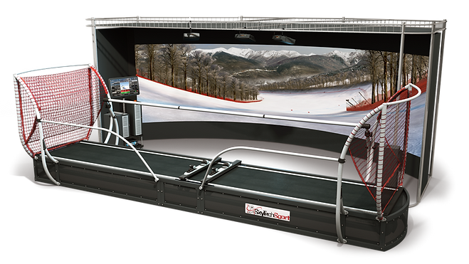 President Ski and Snowboard Simulator — powerful equipment for training, learning and events
