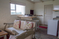 View over lounge to kitchen