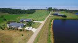 Cottage Aerial View L
