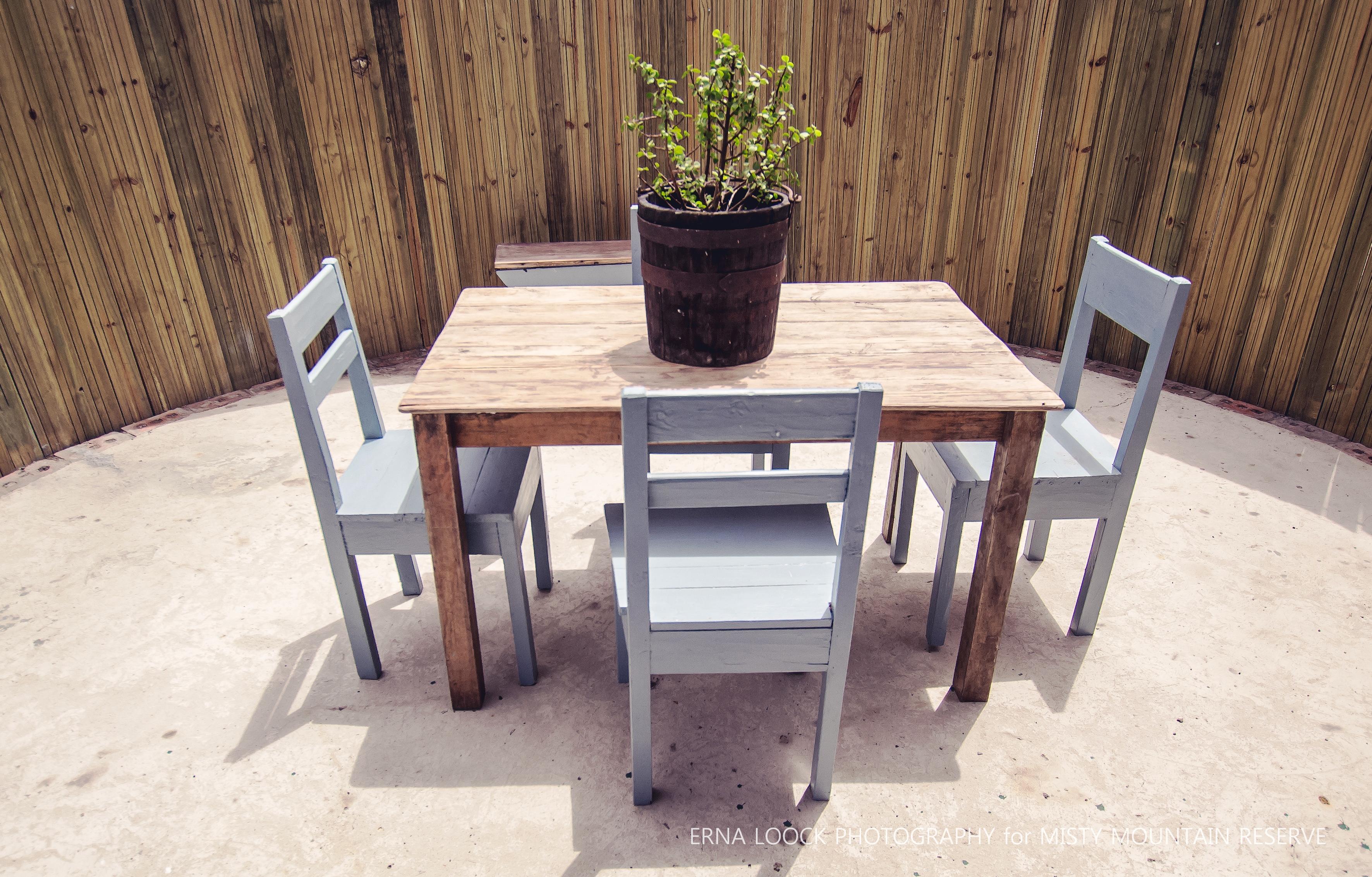 Outside table