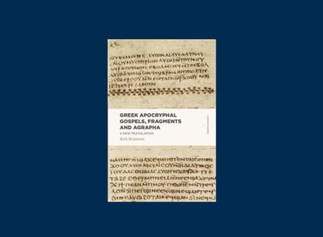 Review of Greek Apocryphal Gospels, Fragments, and Agrapha