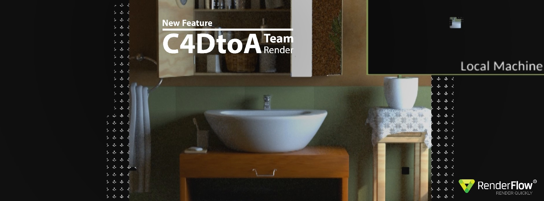 C4DtoA Team Render