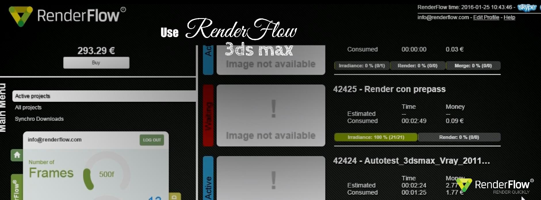 Tutorial 3dsmax y RenderFlow