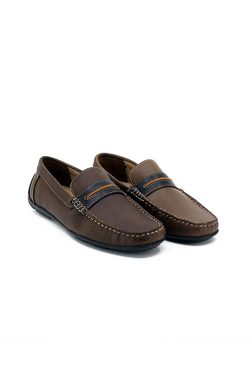 REAL LEATHER DRIVING SHOES 82FB2220FA-10