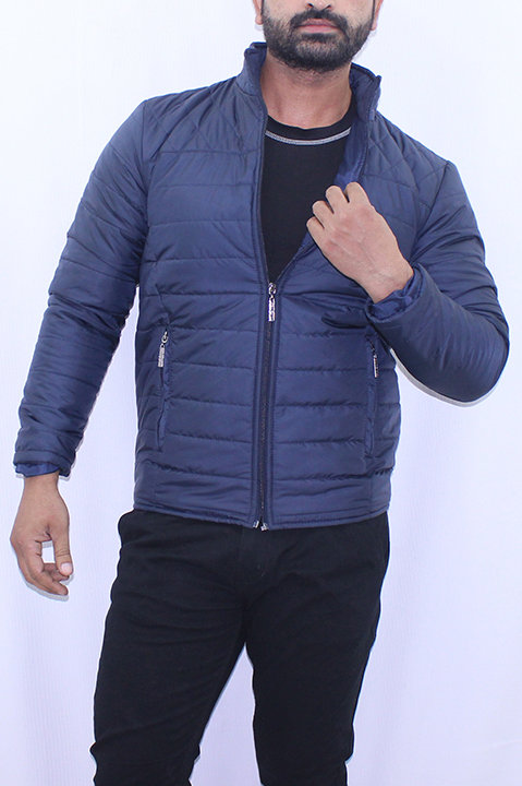FW20MO06-09 SOLID QUILTED JACKET