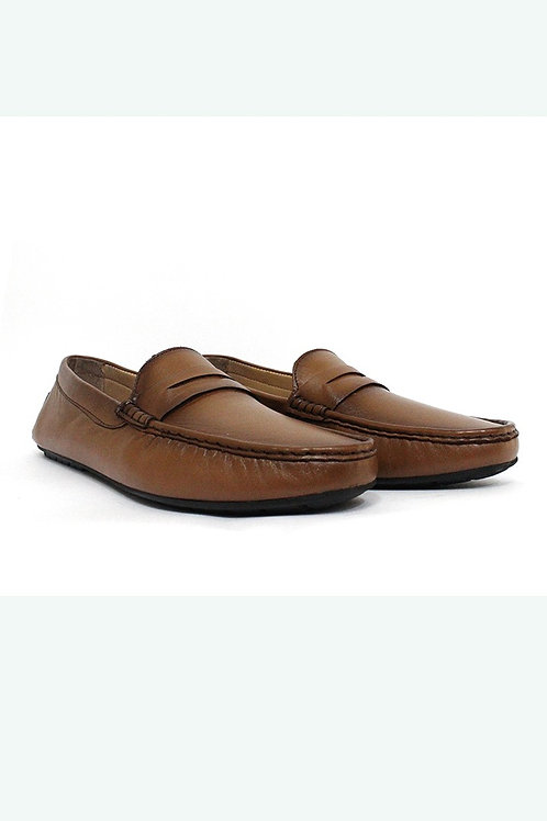 SS20FBR05-135 GENUINE LATHER LOAFER