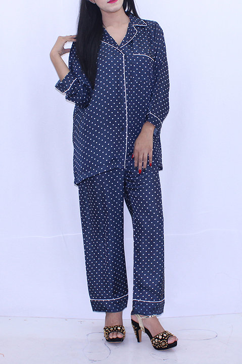 FW20WT18-09 DOTTED SLEEPING SUIT