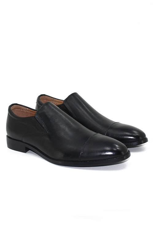 REAL LEATHER SLIP ON SHOEFW19FB229-01