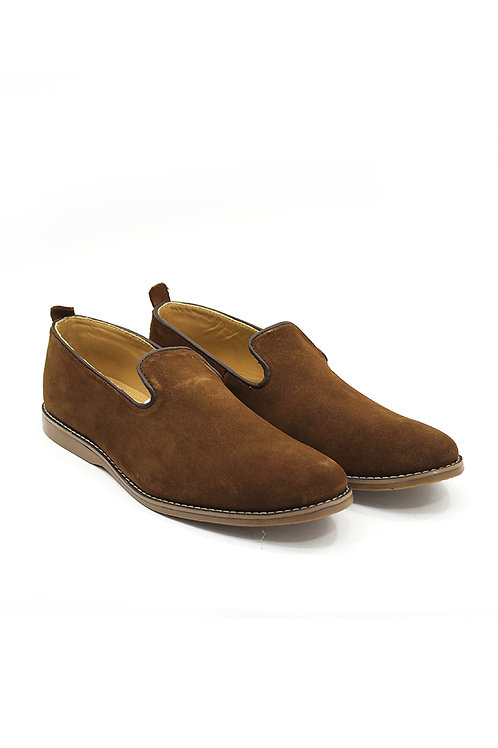 SS20FB07-10  REAL SUEDE LOAFERS