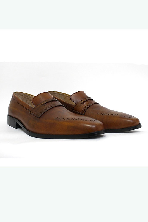 SS20FBR12-135 GENUINE LEATHER DRESS SHOE