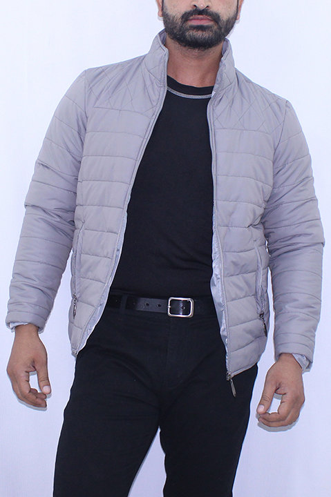 FW20MO07-19 SOLID QUILTED JACKET