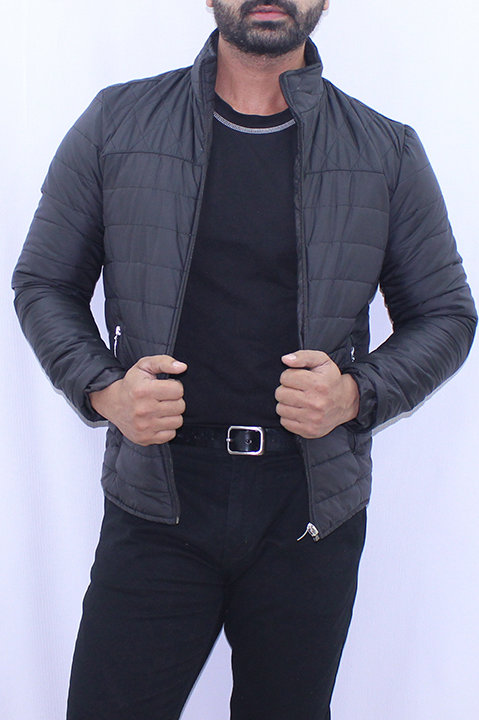 FW20MO05-01 SOLID QUILTED JACKET