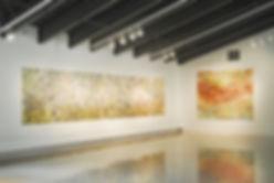 "Installation view – ""ONE THOUSAND PRAYERS"" Olin Art Gallery, 2012 Washington & Jefferson College, Washington, Pennsylvania"
