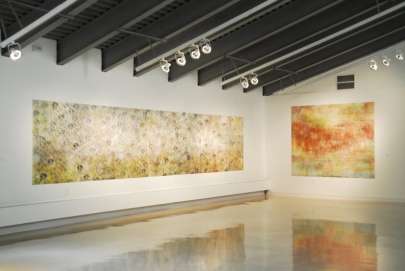 "Installation view – ""ONE THOUSAND PRAYERS"" Olin Art Gallery, 2012 Washington & Jefferson College, Washington, Pennsylvania"