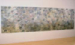 """ONE THOUSAND PRAYERS, 2009 Silkscreen, Monoprint, and Linoleum cut 60"""" x 202-1/2"""""""